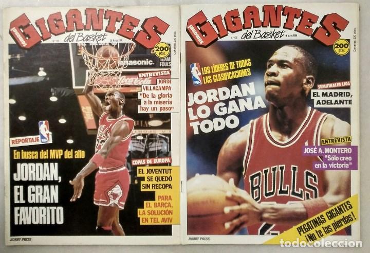 MICHAEL JORDAN - REVISTAS ''GIGANTES DEL BASKET'' (1988) - MVP 1988 - NBA (Coleccionismo Deportivo - Revistas y Periódicos - otros Deportes)