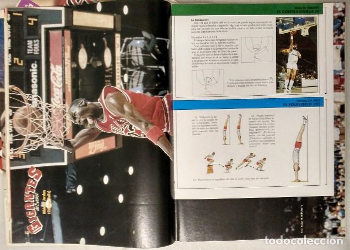 Coleccionismo deportivo: Michael Jordan - Revistas ''Gigantes del Basket'' (1988) - MVP 1988 - NBA - Foto 2 - 165273946
