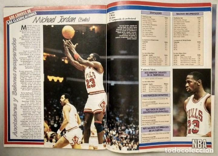 Coleccionismo deportivo: Michael Jordan - Revistas ''Gigantes del Basket'' (1988) - MVP 1988 - NBA - Foto 3 - 165273946
