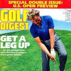 Coleccionismo deportivo: GOLF DIGEST JUNE 1987 U.S. OPEN. EN INGLES . Lote 165467474