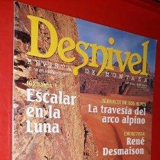 Coleccionismo deportivo: REVISTA DESNIVEL Nº 175 JULIO/AGOSTO 2001. JORDANIA: ESCALAR EN LA LUNA, DENT D'ORLU, PIC DE GARD. Lote 165526490