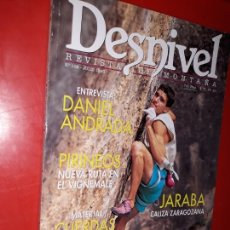 Coleccionismo deportivo: DESNIVEL Nº 108 , REVISTA DE MONTAÑA - EDITADA - 1995. Lote 165527406