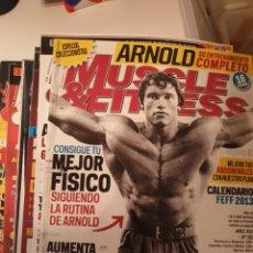 Coleccionismo deportivo: REVISTAS CULTURISMO AÑOS 90. 30 REVISTAS. Lote 165776009
