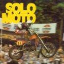 Coleccionismo deportivo: SOLO MOTO NÚMERO 203 DEL 10 AGOSTO 1979 PIER PAOLO BIANCHI. Lote 165791994