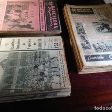 Coleccionismo deportivo: BARCELONA DEPORTIVA GRAN COLECCION DE MAS DE 1200 PERIODICOS DE DEPORTE Y DEL BARÇA DE 1946 A 1974. Lote 165835086