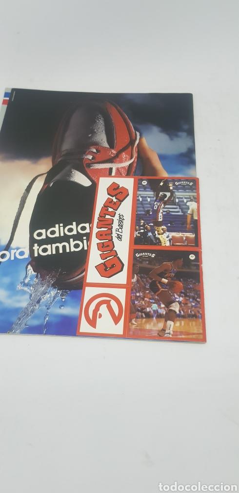 Coleccionismo deportivo: Revista baloncesto Gigantes del Basket número 82 con cromos y póster ,Magic Johnson - Foto 2 - 166320598