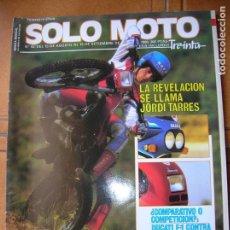 Coleccionismo deportivo: REVISTA SOLO MOTO N,43 DE SEPTIEMBRE DE 1986. Lote 166525538