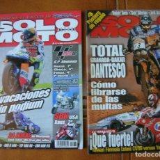 Coleccionismo deportivo: LOTE DE 2 REVISTAS SOLO MOTO NUMEROS ,1179,Y 1363 AÑO 2002 Y 1999. Lote 166526082