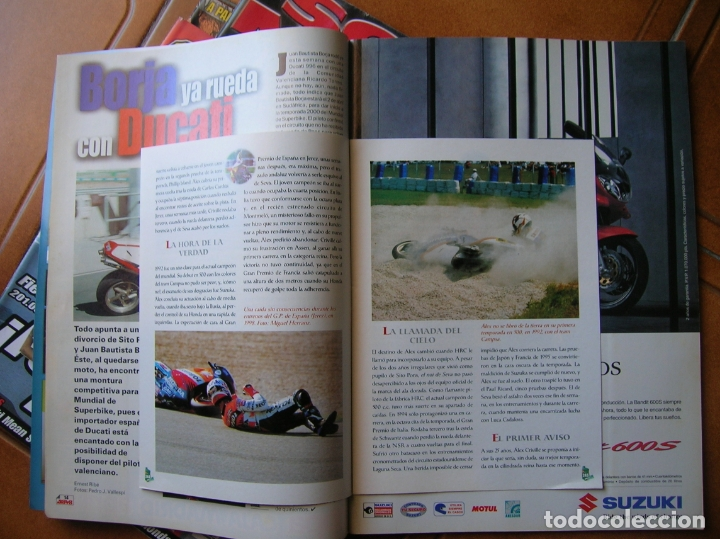 Coleccionismo deportivo: LOTEDE REVISTAS SOLO MOTO NUMEROS ,1347,1205,1442,1344 - Foto 5 - 166527782