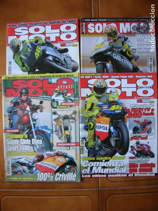 LOTEDE REVISTAS SOLO MOTO NUMEROS ,1347,1205,1442,1344 (Coleccionismo Deportivo - Revistas y Periódicos - otros Deportes)