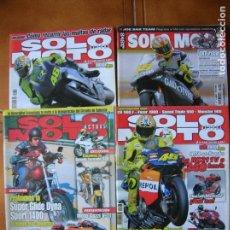 Coleccionismo deportivo: LOTEDE REVISTAS SOLO MOTO NUMEROS ,1347,1205,1442,1344. Lote 166527782