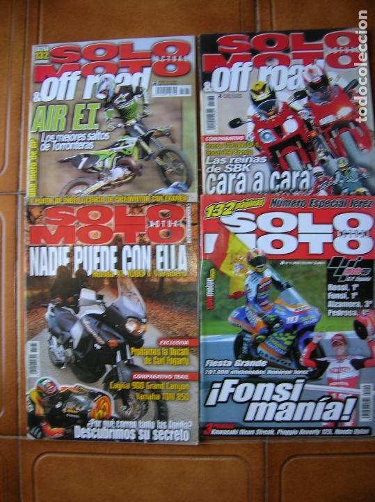 LOTE REVISTAS SOLO MOTO NUMEROS ,1175,1352,1236,1237 (Coleccionismo Deportivo - Revistas y Periódicos - otros Deportes)