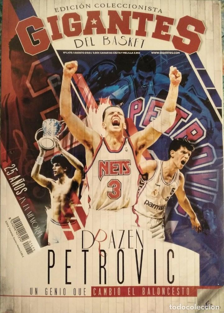 DRAZEN PETROVIC - COLECCIÓN DE REVISTAS ''GIGANTES DEL BASKET'' Y ''SUPERBASKET'' (1986-1993) (Coleccionismo Deportivo - Revistas y Periódicos - otros Deportes)