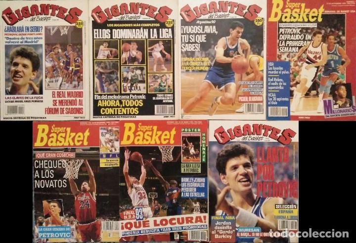 Coleccionismo deportivo: Drazen Petrovic - Colección de revistas Gigantes del Basket y Superbasket (1986-1993) - Foto 3 - 166853230
