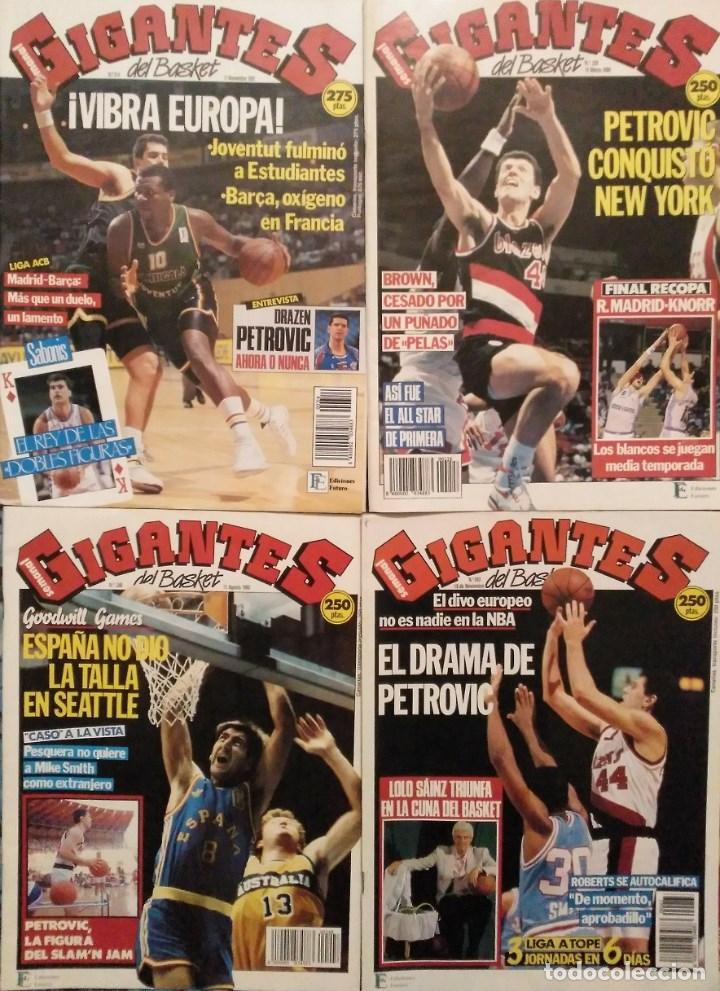 Coleccionismo deportivo: Drazen Petrovic - Colección de revistas Gigantes del Basket y Superbasket (1986-1993) - Foto 5 - 166853230