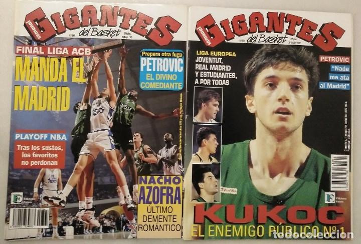 Coleccionismo deportivo: Drazen Petrovic - Colección de revistas Gigantes del Basket y Superbasket (1986-1993) - Foto 7 - 166853230