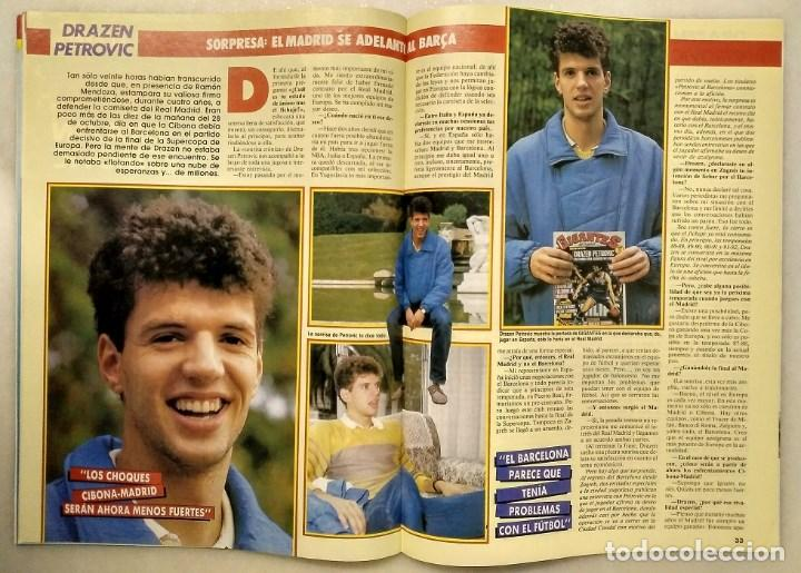Coleccionismo deportivo: Drazen Petrovic - Colección de revistas Gigantes del Basket y Superbasket (1986-1993) - Foto 8 - 166853230