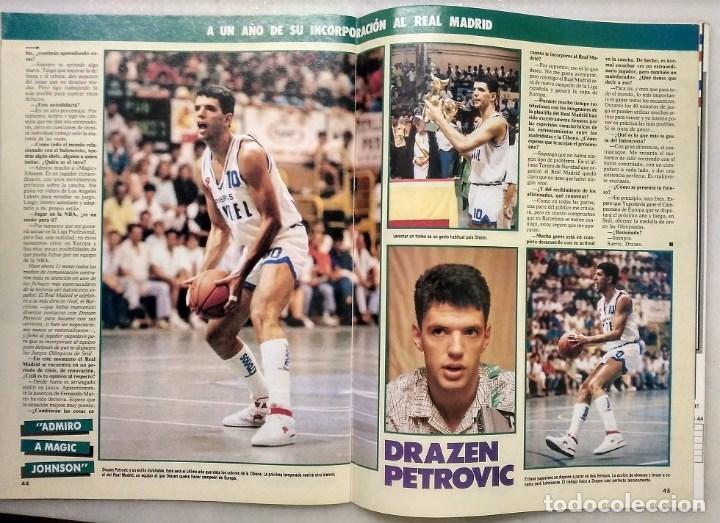 Coleccionismo deportivo: Drazen Petrovic - Colección de revistas Gigantes del Basket y Superbasket (1986-1993) - Foto 9 - 166853230