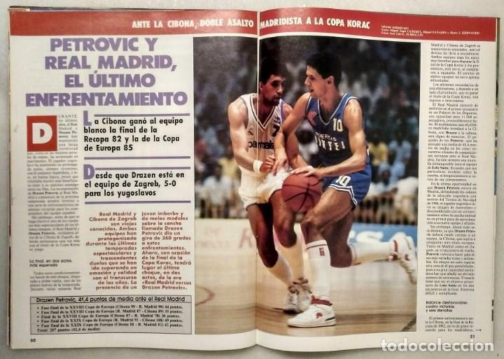 Coleccionismo deportivo: Drazen Petrovic - Colección de revistas Gigantes del Basket y Superbasket (1986-1993) - Foto 10 - 166853230