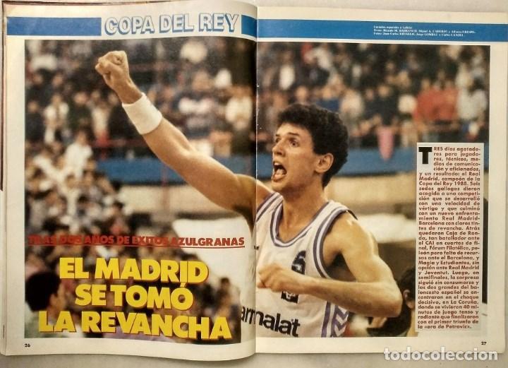 Coleccionismo deportivo: Drazen Petrovic - Colección de revistas Gigantes del Basket y Superbasket (1986-1993) - Foto 11 - 166853230