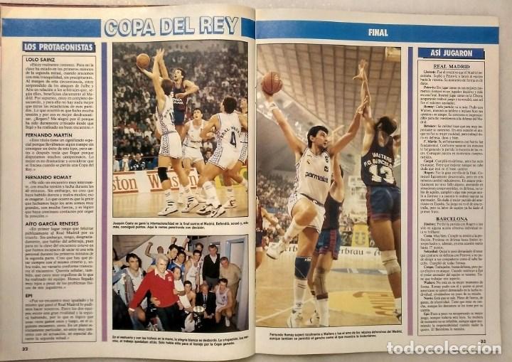 Coleccionismo deportivo: Drazen Petrovic - Colección de revistas Gigantes del Basket y Superbasket (1986-1993) - Foto 12 - 166853230