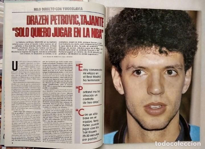 Coleccionismo deportivo: Drazen Petrovic - Colección de revistas Gigantes del Basket y Superbasket (1986-1993) - Foto 14 - 166853230