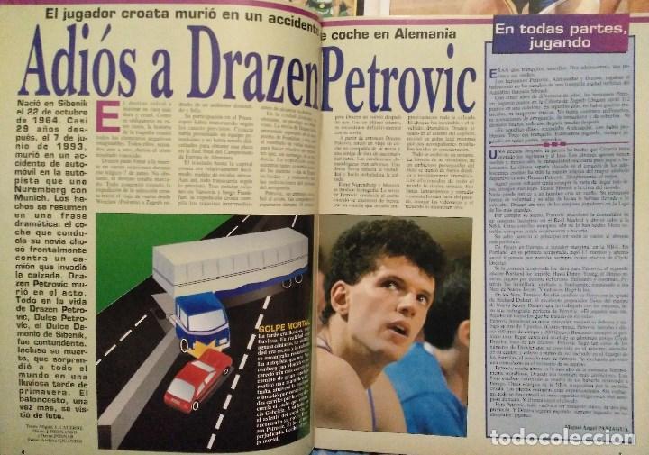 Coleccionismo deportivo: Drazen Petrovic - Colección de revistas Gigantes del Basket y Superbasket (1986-1993) - Foto 18 - 166853230