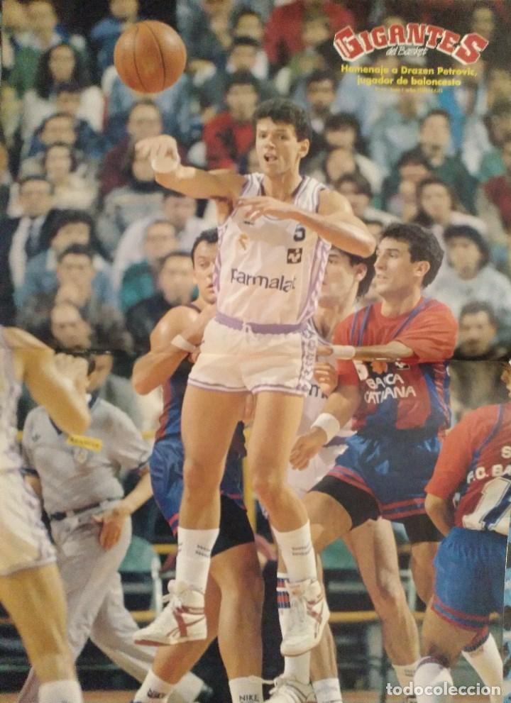Coleccionismo deportivo: Drazen Petrovic - Colección de revistas Gigantes del Basket y Superbasket (1986-1993) - Foto 19 - 166853230