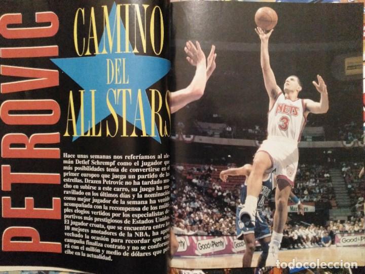 Coleccionismo deportivo: Drazen Petrovic - Colección de revistas Gigantes del Basket y Superbasket (1986-1993) - Foto 20 - 166853230