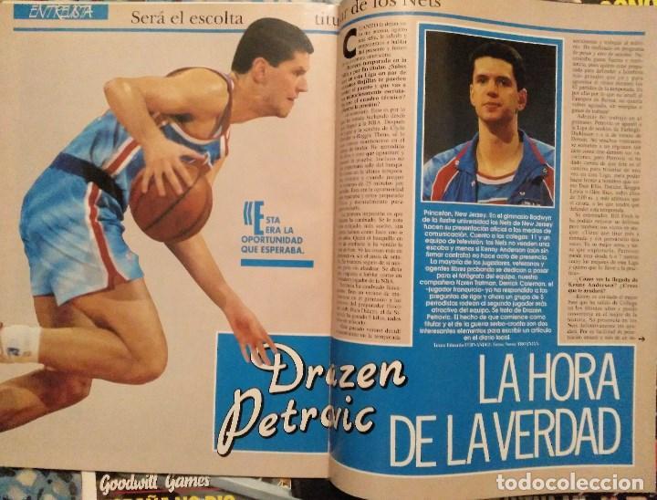 Coleccionismo deportivo: Drazen Petrovic - Colección de revistas Gigantes del Basket y Superbasket (1986-1993) - Foto 21 - 166853230