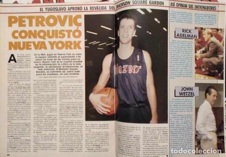 Coleccionismo deportivo: Drazen Petrovic - Colección de revistas Gigantes del Basket y Superbasket (1986-1993) - Foto 22 - 166853230