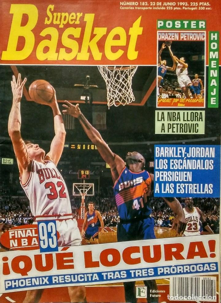 Coleccionismo deportivo: Drazen Petrovic - Colección de revistas Gigantes del Basket y Superbasket (1986-1993) - Foto 24 - 166853230