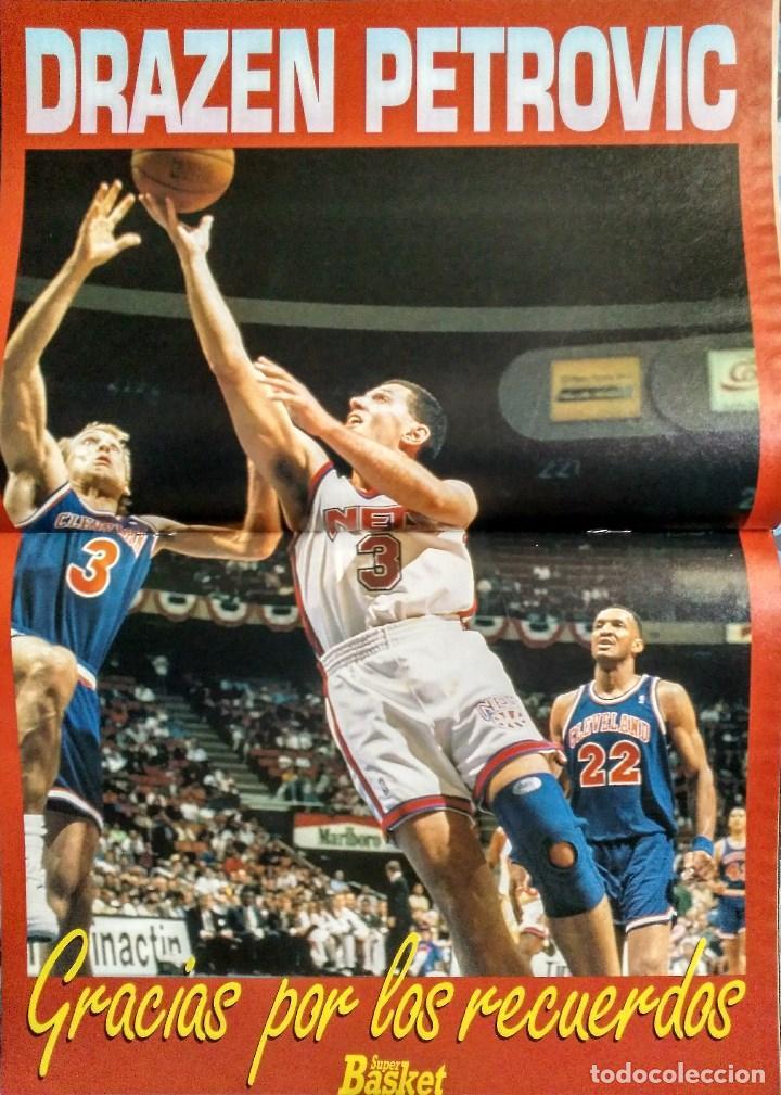 Coleccionismo deportivo: Drazen Petrovic - Colección de revistas Gigantes del Basket y Superbasket (1986-1993) - Foto 25 - 166853230