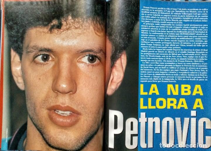 Coleccionismo deportivo: Drazen Petrovic - Colección de revistas Gigantes del Basket y Superbasket (1986-1993) - Foto 26 - 166853230