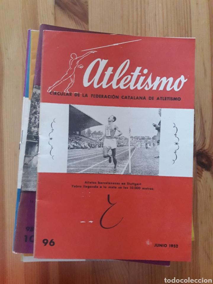 Coleccionismo deportivo: ATLETISMO BOLETIN FEDERACION CATALANA - BARCELONA - 124 REVISTAS 1944 - 1966 - Foto 2 - 166902940