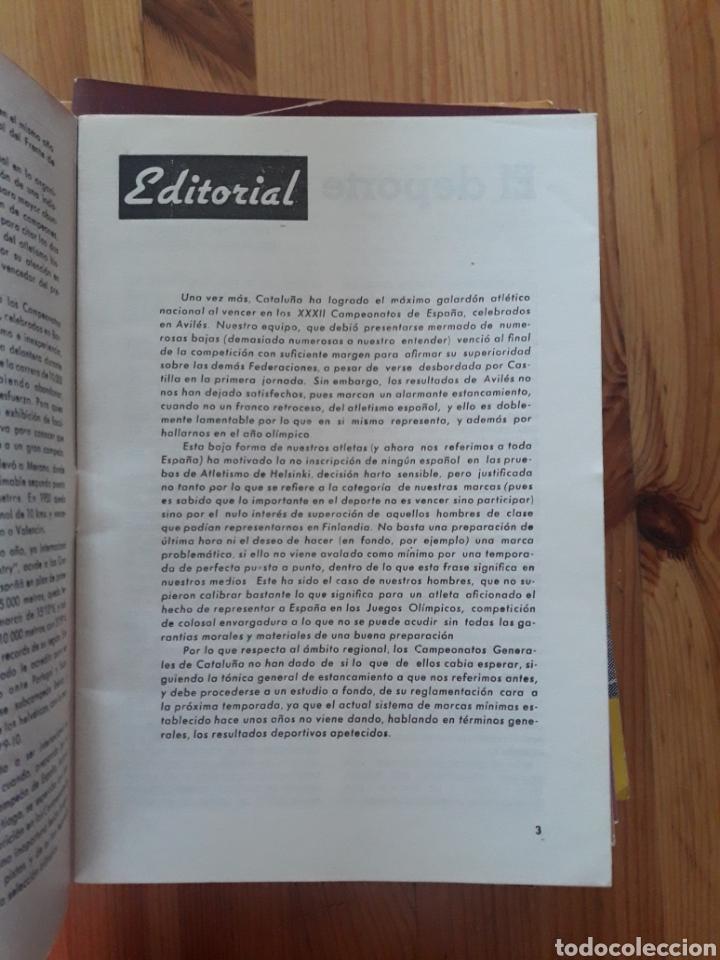 Coleccionismo deportivo: ATLETISMO BOLETIN FEDERACION CATALANA - BARCELONA - 124 REVISTAS 1944 - 1966 - Foto 3 - 166902940