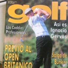Coleccionismo deportivo: REVISTA GOLF Nº 320 AÑO 1991. GERVAS, SEVERIANO BALLESTEROS, CAÑIZARES, OLAZABAL. Lote 167158700