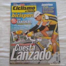 Coleccionismo deportivo: REVISTA CICLISMO A FONDO Nº 162 AÑO 1998. Lote 167355896