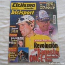 Coleccionismo deportivo: REVISTA CICLISMO A FONDO Nº 169 AÑO 1998, BANESTO, ONCE. Lote 167358232