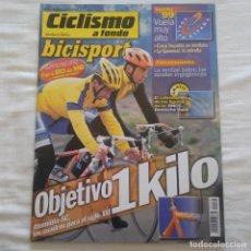 Coleccionismo deportivo: REVISTA CICLISMO A FONDO Nº 170 AÑO 1999. CUADROS LIGEROS. Lote 167358244