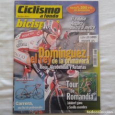 Coleccionismo deportivo: REVISTA CICLISMO A FONDO Nº 175 AÑO 1999. JUAN CARLOS DOMÍNGUEZ , TOUR DE ROMANDÍA. Lote 167359272