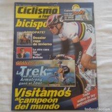Coleccionismo deportivo: REVISTA CICLISMO A FONDO Nº 181 AÑO 1999. ARMSTRONG. Lote 167360840