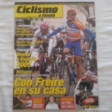 Coleccionismo deportivo: REVISTA CICLISMO A FONDO Nº 242 AÑO 2005. ÓSCAR FREIRE, VUELTA A ESPAÑA. Lote 167362360