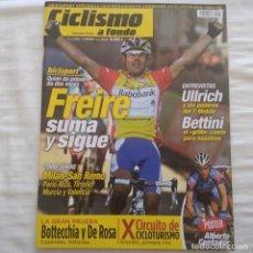 Coleccionismo deportivo: REVISTA CICLISMO A FONDO Nº 245 AÑO 2005. ÓSCAR FREIRE, ULLRICH, BETTINI. Lote 167363052