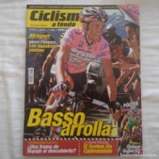 Coleccionismo deportivo: REVISTA CICLISMO A FONDO Nº 260 AÑO 2006. IVÁN BASSO. Lote 167365244