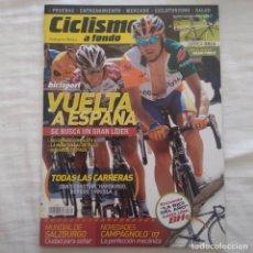 Coleccionismo deportivo: REVISTA CICLISMO A FONDO Nº 262 AÑO 2006. VUELTA A ESPAÑA. Lote 167365664