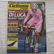 Coleccionismo deportivo: REVISTA CICLISMO A FONDO Nº 271 AÑO 2007. Lote 167367428