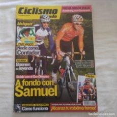 Coleccionismo deportivo: REVISTA CICLISMO A FONDO Nº 294 AÑO 2009. SAMUEL SÁNCHEZ, CONTADOR, BOONEN, ARMSTRONG. Lote 167372748