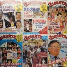Coleccionismo deportivo: MICHAEL JORDAN - REVISTAS ''GIGANTES DEL BASKET'' (JULIO/AGOSTO 1992) - ''DREAM-TEAM'' - NBA. Lote 167888688