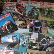 Coleccionismo deportivo: 2RUEDAS, ENCICLOPEDIA DE LA MOTO- 19 REVISTAS + TOMO- LOTE DEL Nº 17 AL 36- 2 RUEDAS DOS. Lote 167924788